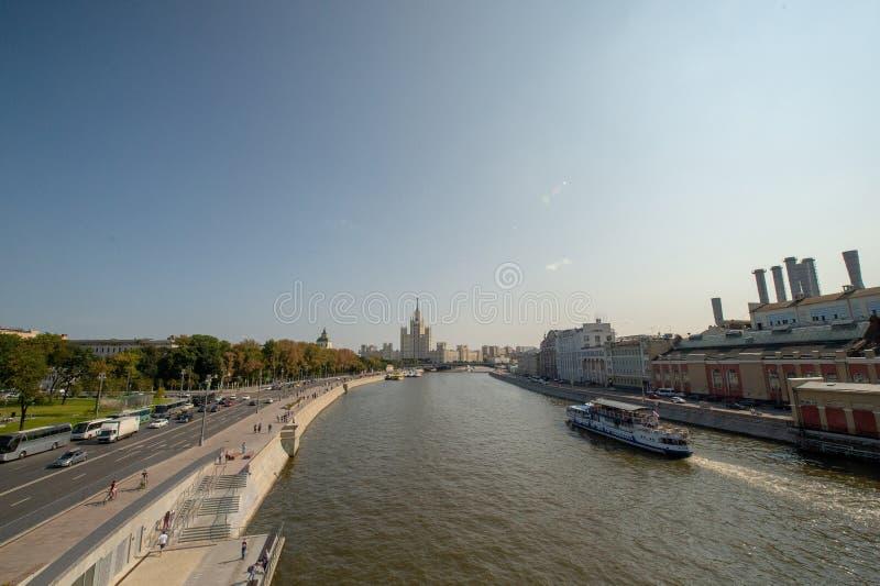 High-rise on kotelnicheskaya Quay. stock photography