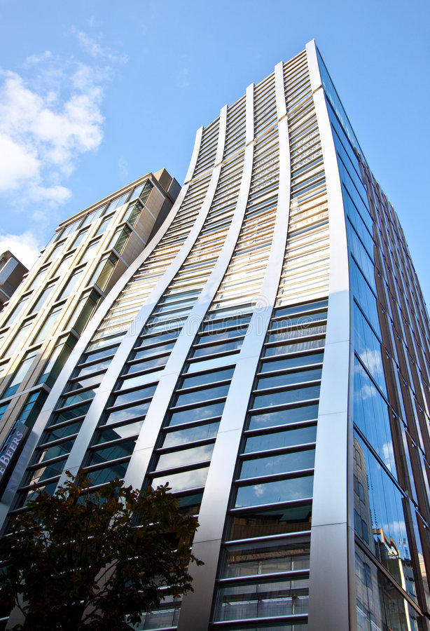 High Rise Office Building In Japan Royalty Free Stock Photos