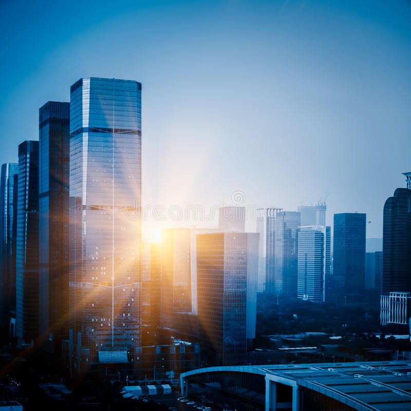 Free High-rise Office Buildings In Hong Kong Stock Images - 85821824