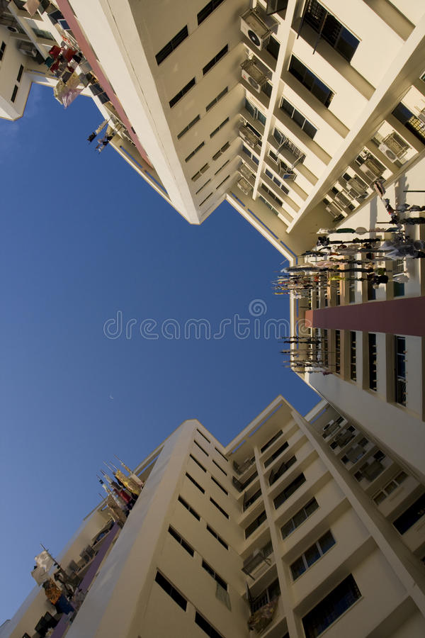 Download High Rise Public Housing Apartments In Singapore Stock Photo - Image: 10746990