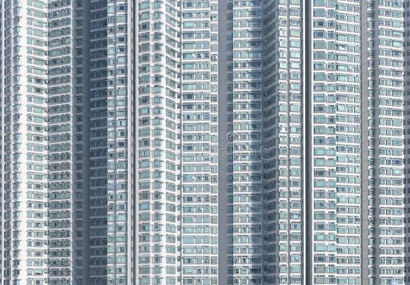 High rise residential building stock image