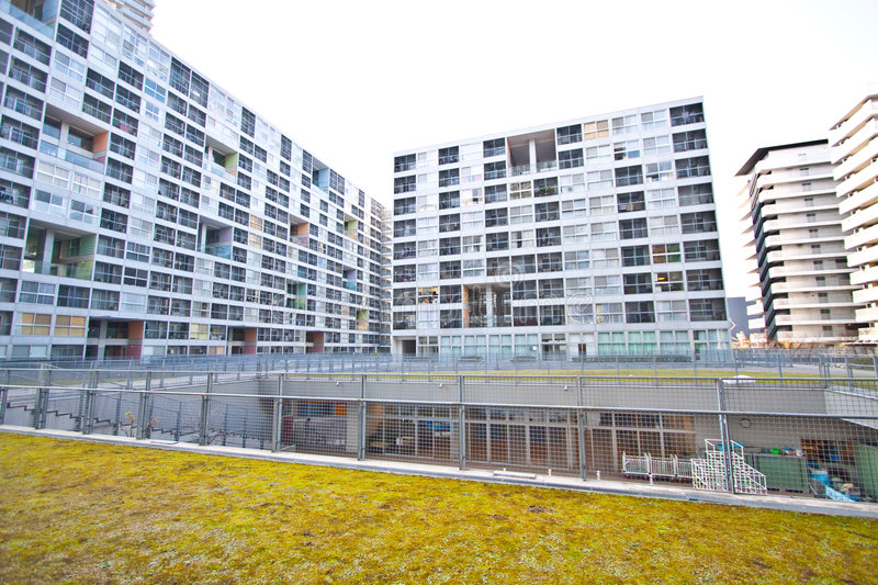 Download High Rise Residential Housing Stock Image - Image: 8182111