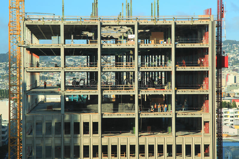 High Rise Rising Royalty Free Stock Photography