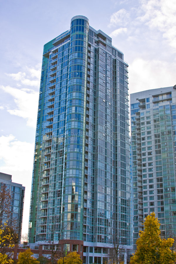 Download High rise skyline towers stock image. Image of area, high - 7154035