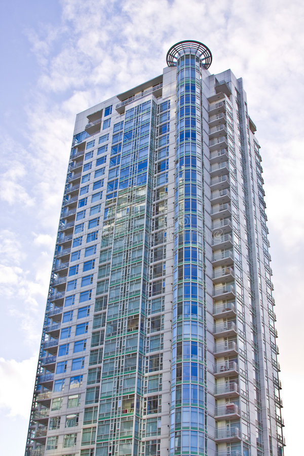 Download High rise skyscraper stock photo. Image of high, dwelling - 7154044