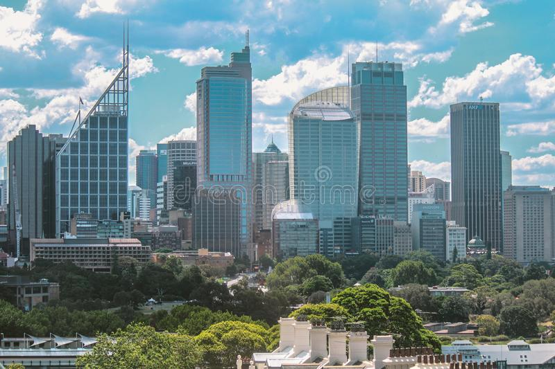 High-rise Skyscraper Buildings royalty free stock images