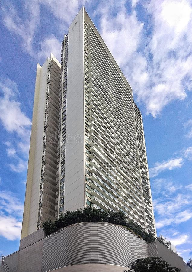 High Rise and Towering. Strolling along Orchard Road in Singapore, you cannot just walk passed those amazing infrastructures without taking a click. They look royalty free stock photos