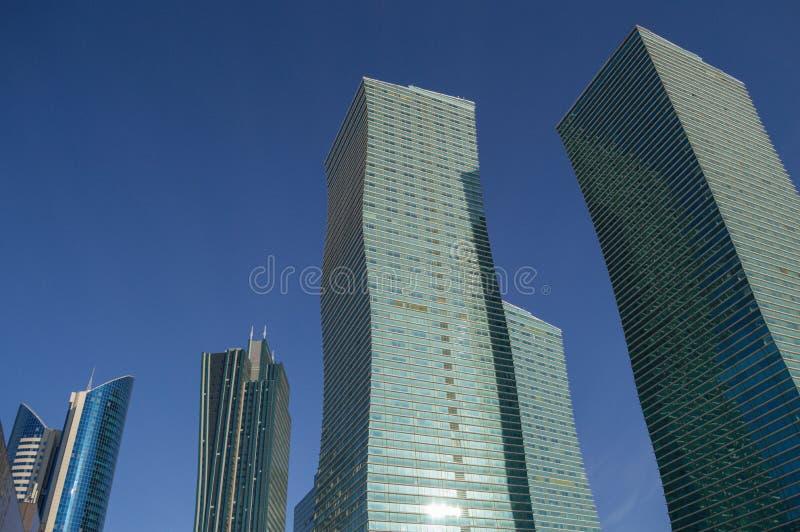 High-Rises in Astana, Kazakhstan during Daytime.  royalty free stock image