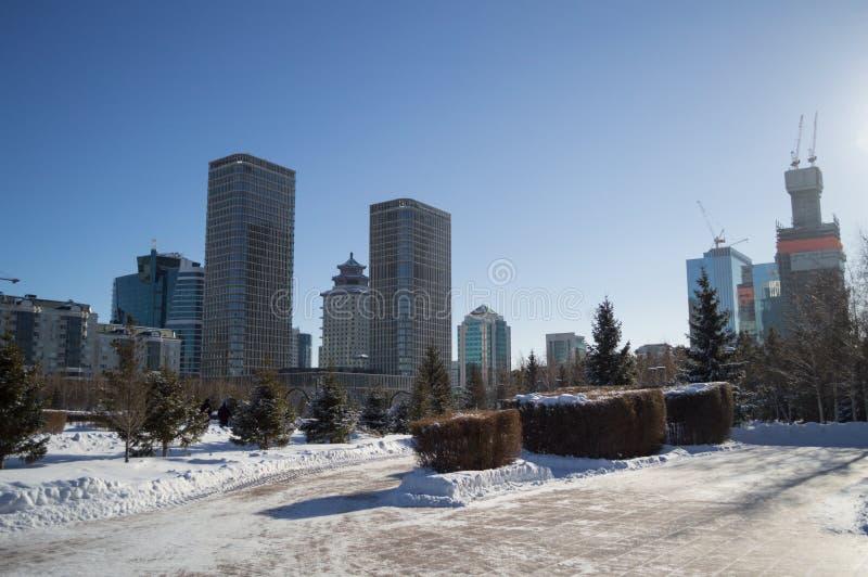 High-Rises in Astana, Kazakhstan during Daytime.  royalty free stock photos