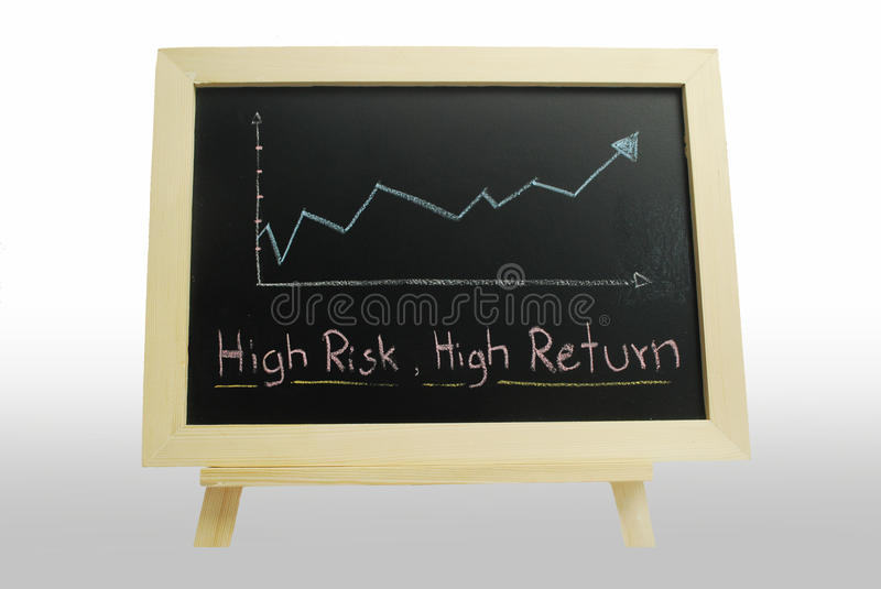 Download High Risk High Return - Business Text Stock Image - Image: 20874265