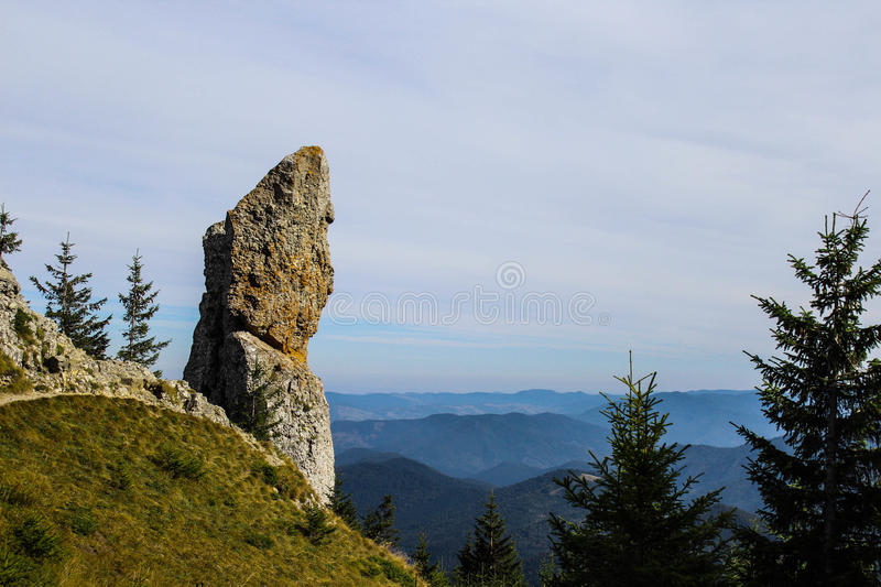 High rock royalty free stock photography