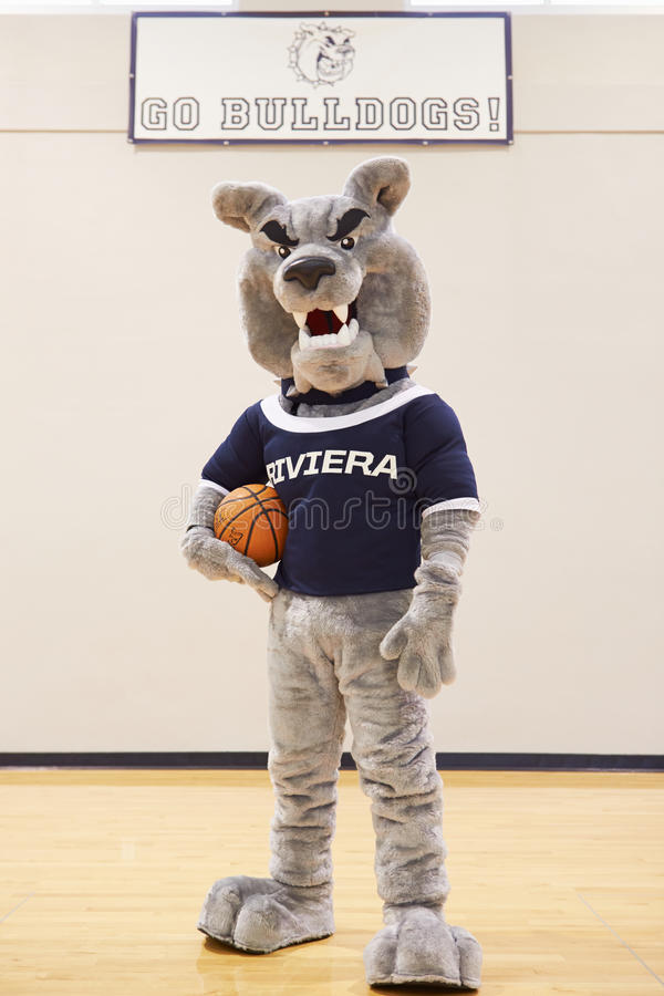 High School Mascot For Basketball Team royalty free stock image