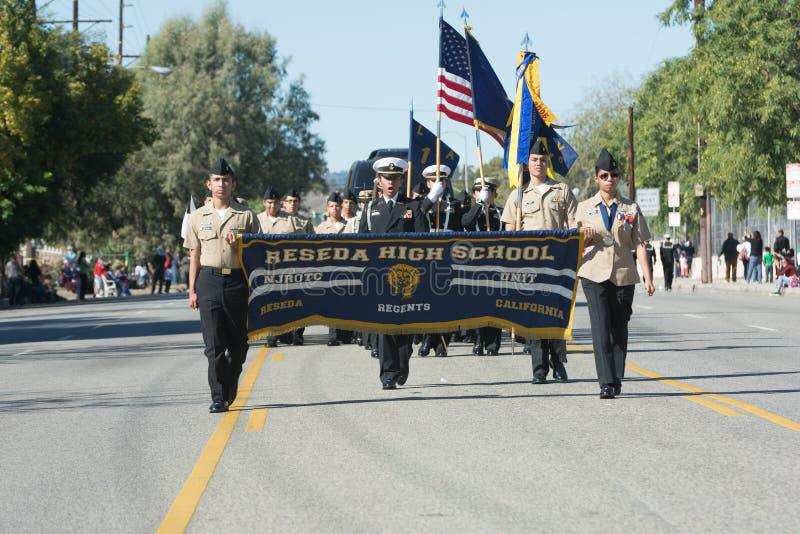 High School secundaria de Reseda fotografía de archivo