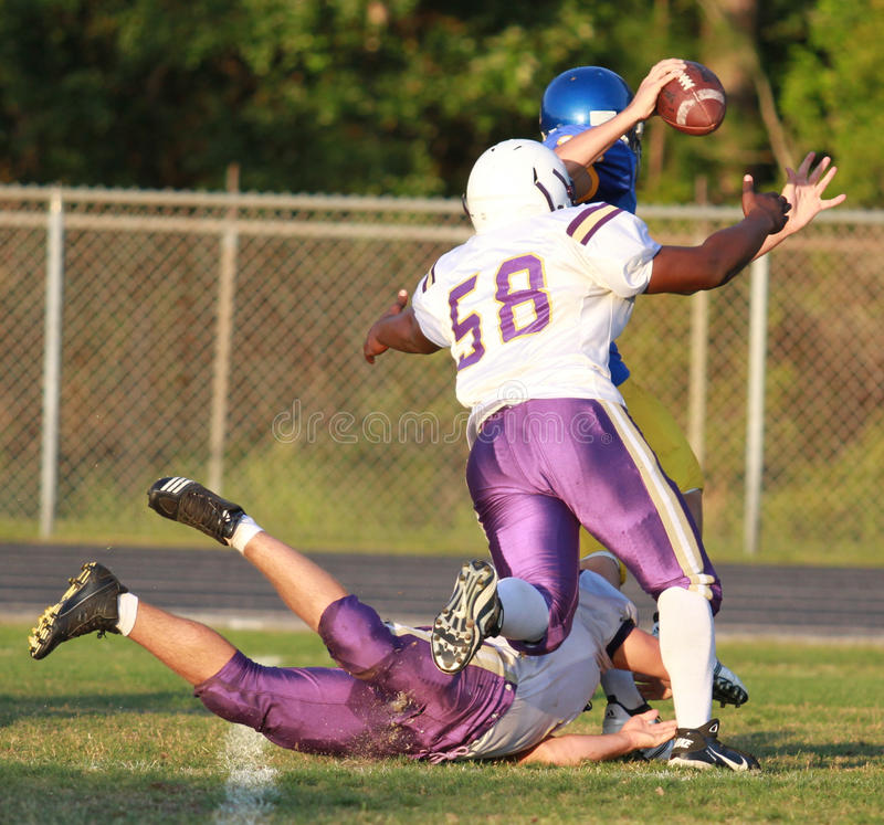 Download High School Spring Football Editorial Photography - Image: 19618992