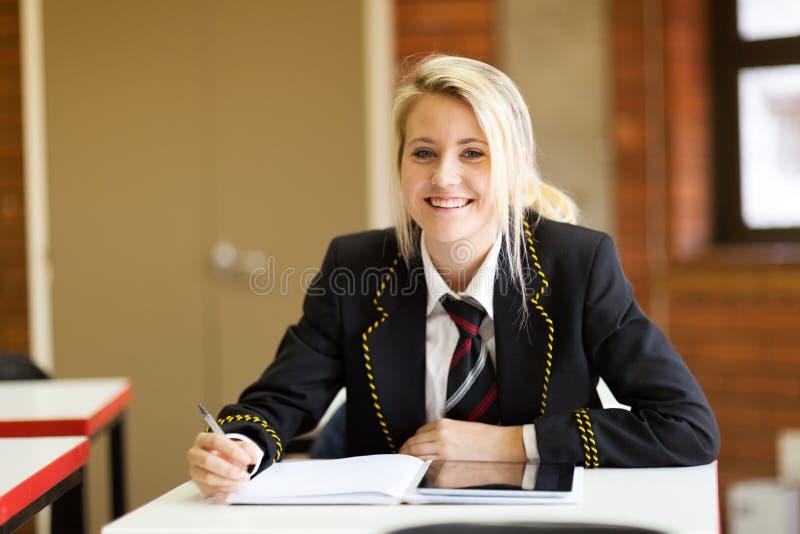 High school student stock photography
