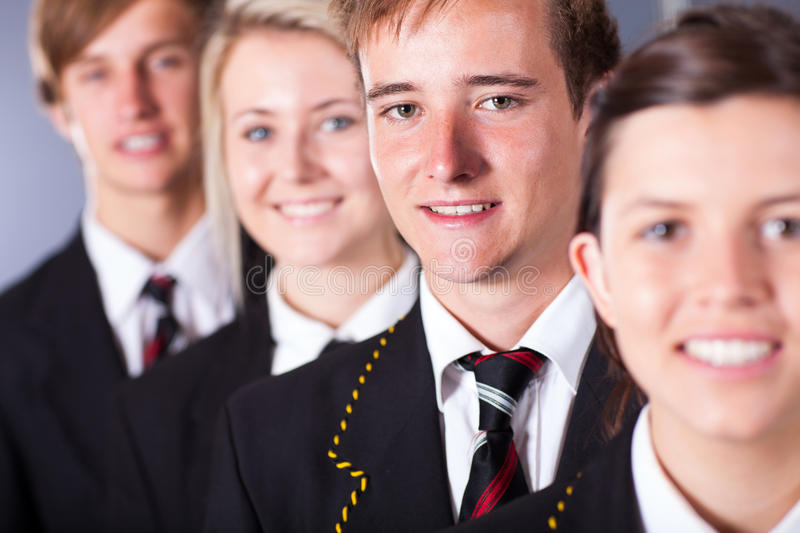 Download High school students stock image. Image of closeup, education - 27130231