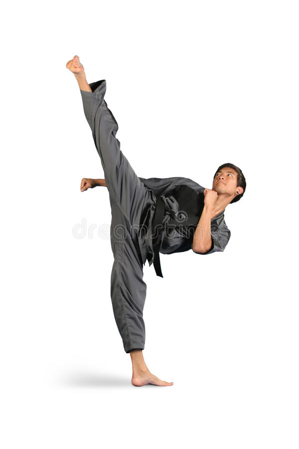 High Side Kick Stock Photos