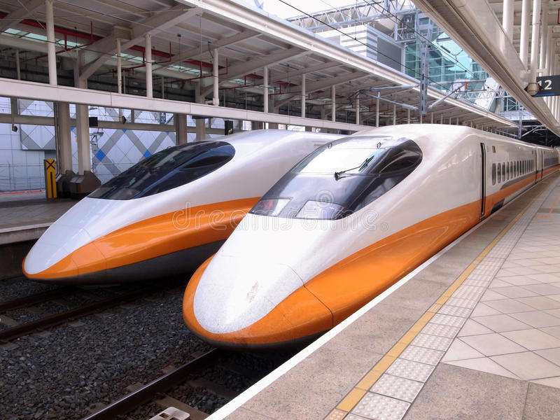Download High Speed Bullet Train Royalty Free Stock Photos - Image: 28650148