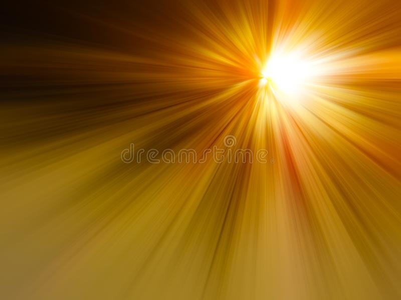 High speed business and technology concept, Acceleration super fast speedy car drive motion blur. Flash, communication. stock image