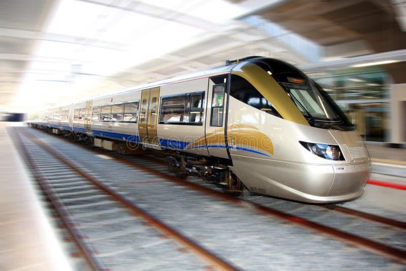 High Speed Gautrain, Gauteng, South Africa royalty free stock image