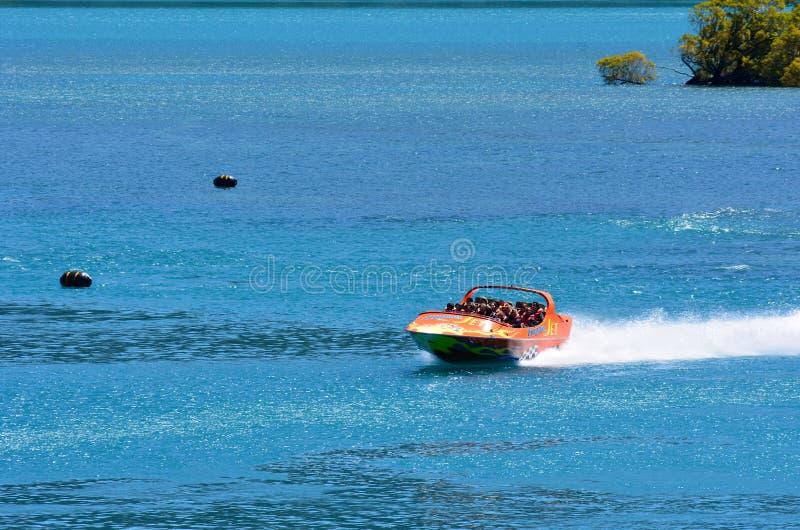 Download High Speed Jet Boat Ride - Queenstown NZ Editorial Photo - Image: 37445861