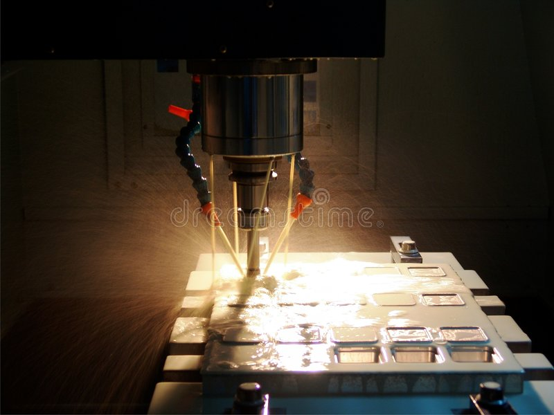 Download High speed milling machine stock image. Image of fabrication - 7223511