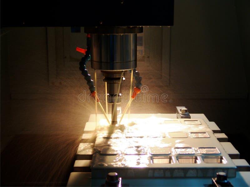 High speed milling machine stock image