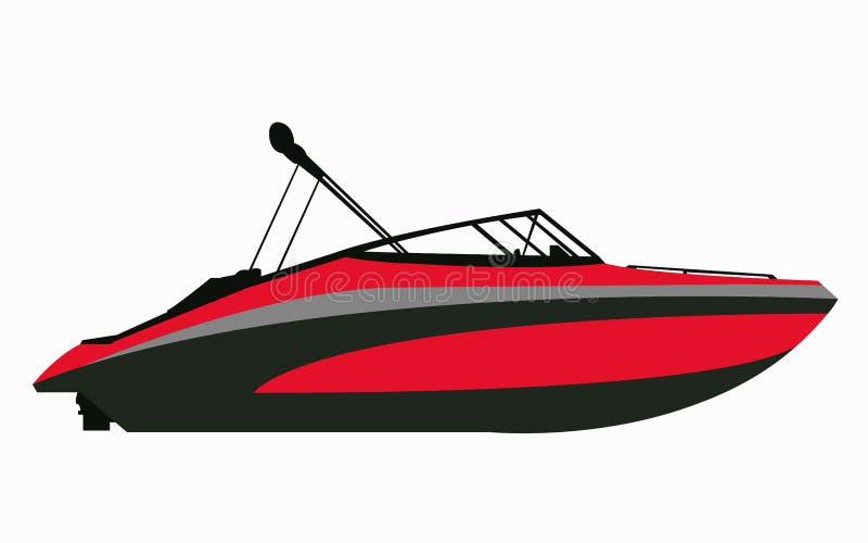 high speed motor boat vector illustration stock vector rh dreamstime com boat vector free download boat vector free download