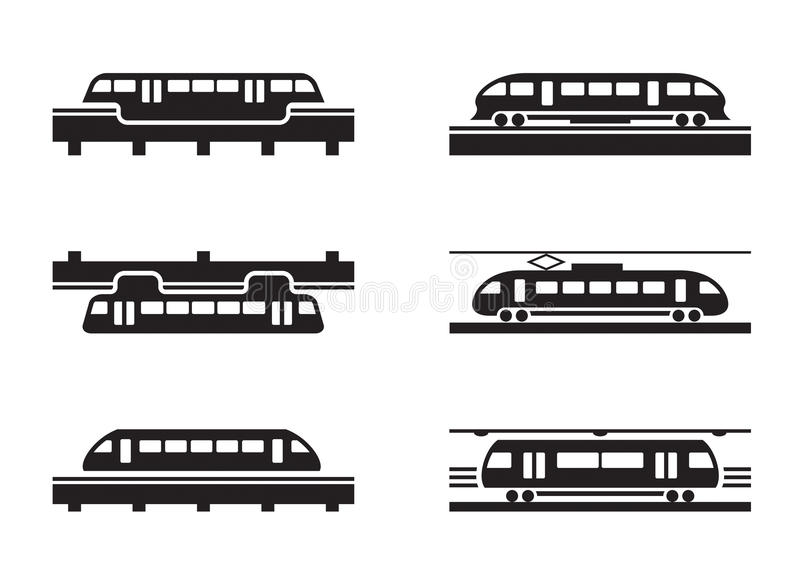 Download High-speed rail trains stock vector. Image of railways - 33430576