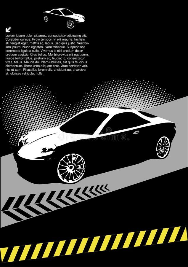 Download High Speed Sport Car Design Stock Illustration - Image: 11598368