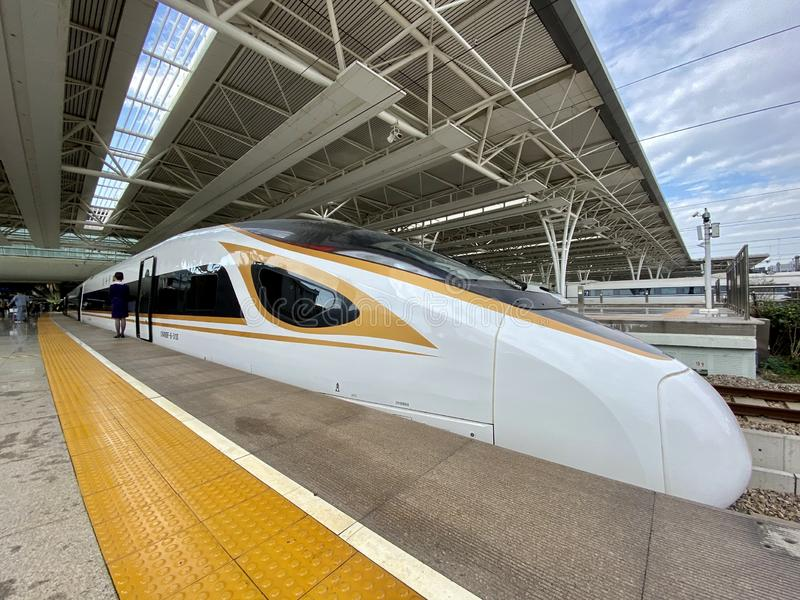 High speed train,China stock photography