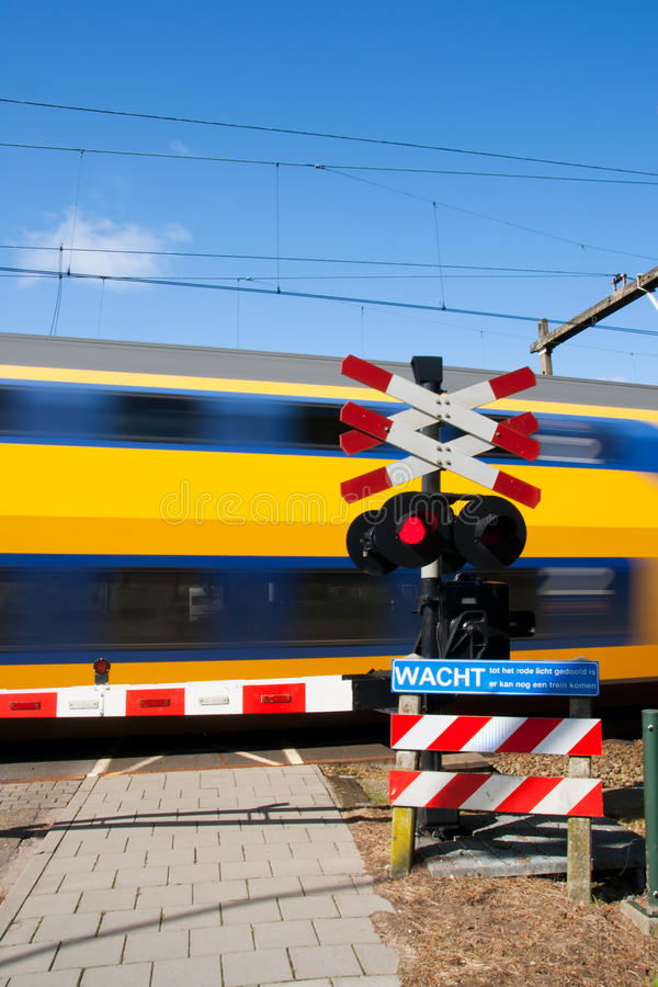 Download High speed train stock image. Image of commuter, holland - 16657927