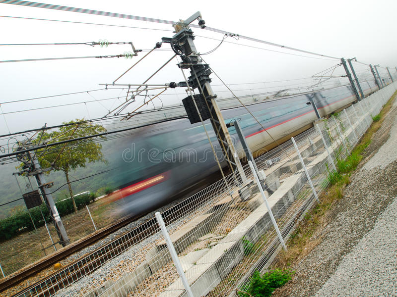 Download High Speed Train stock image. Image of modern, destination - 18928179