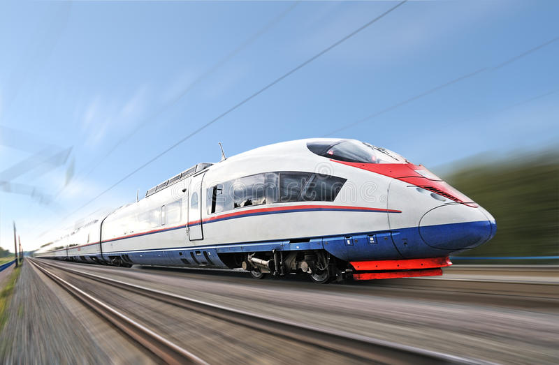 Download High-speed  Train. Royalty Free Stock Photos - Image: 20864668
