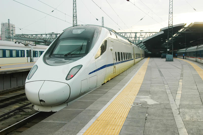 High speed train of China royalty free stock images