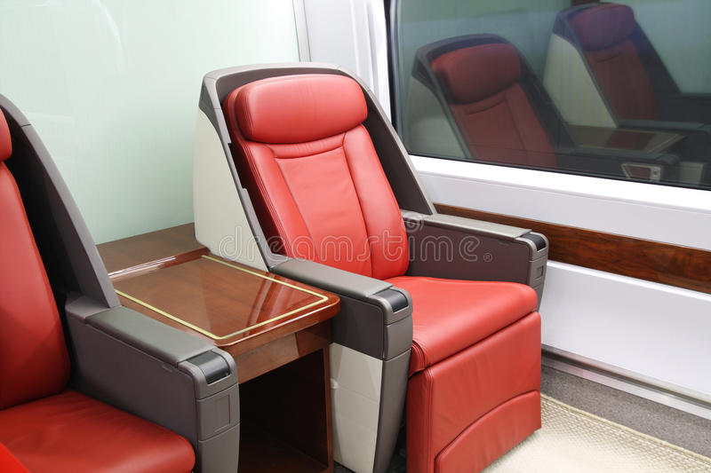 Download High-speed train seats stock image. Image of travel, railway - 15267069