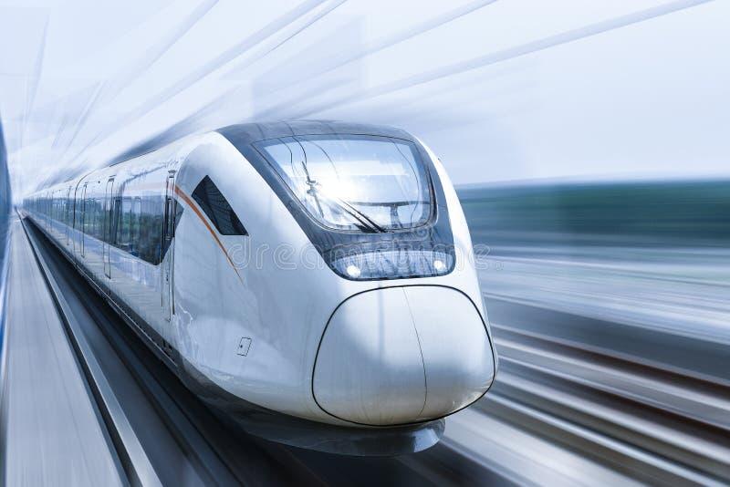 High speed train royalty free stock photo