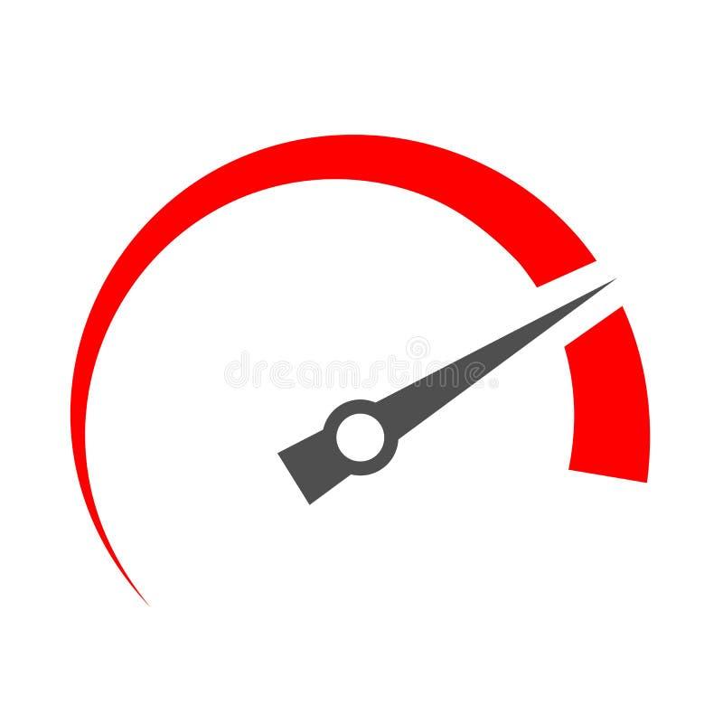 High speed vector icon stock illustration