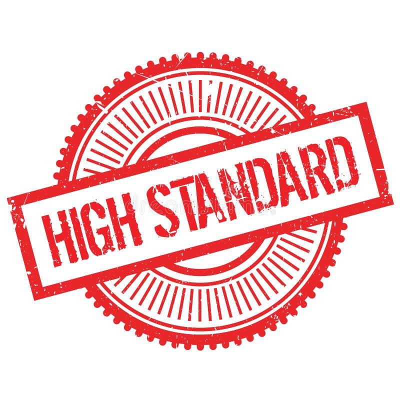High standard stamp royalty free illustration