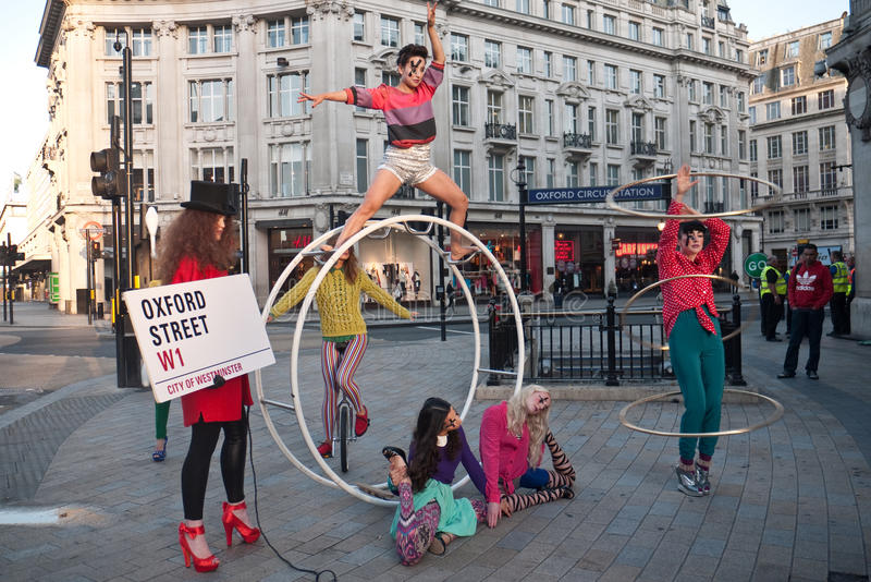 High Street Fashion Week Editorial Photo