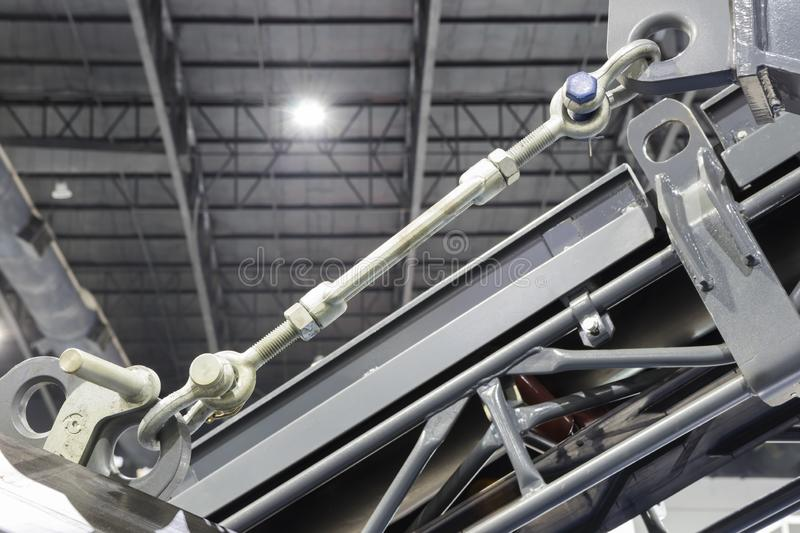 High Strength steel TURNBUCKLE royalty free stock image