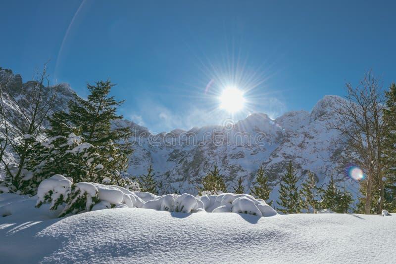 High Tatra Mountains, Poland stock photo