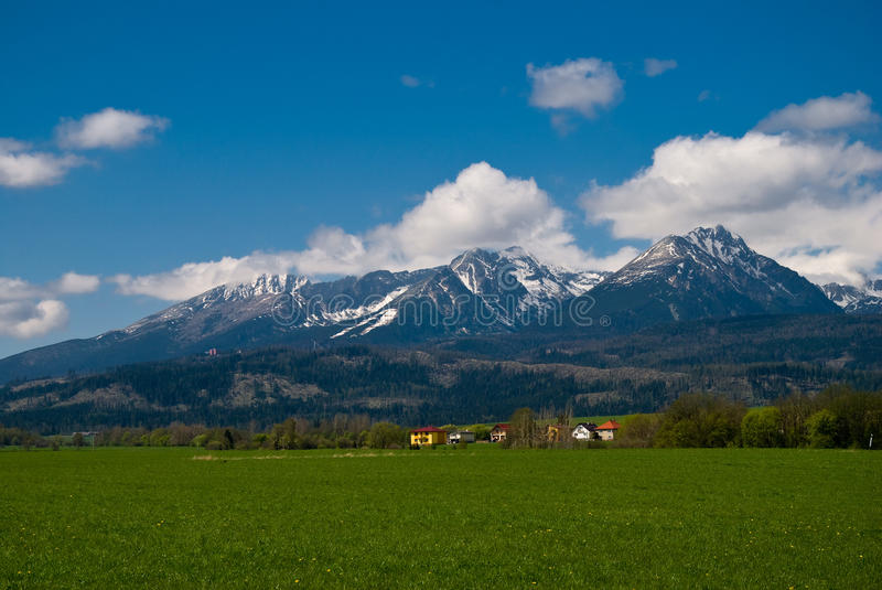 High Tatras royalty free stock photo