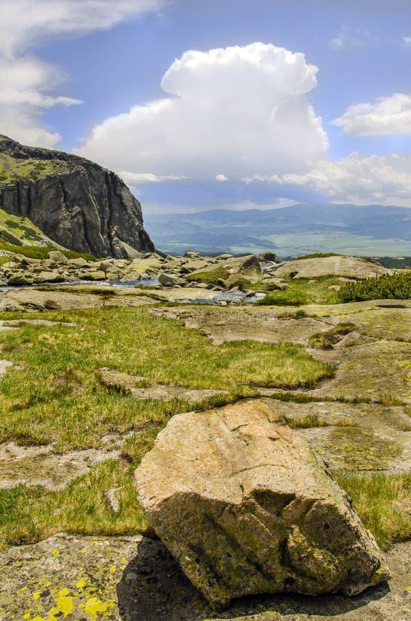 High Tatra mountains, Slovakia stock photo