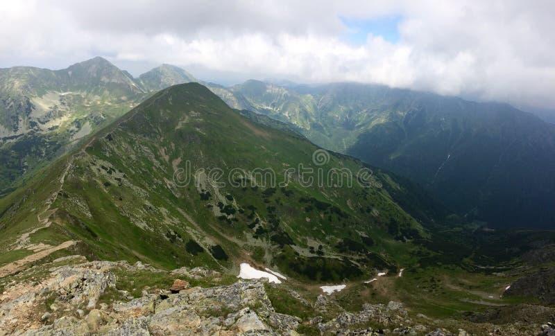 High tatras nature on slovakia royalty free stock image