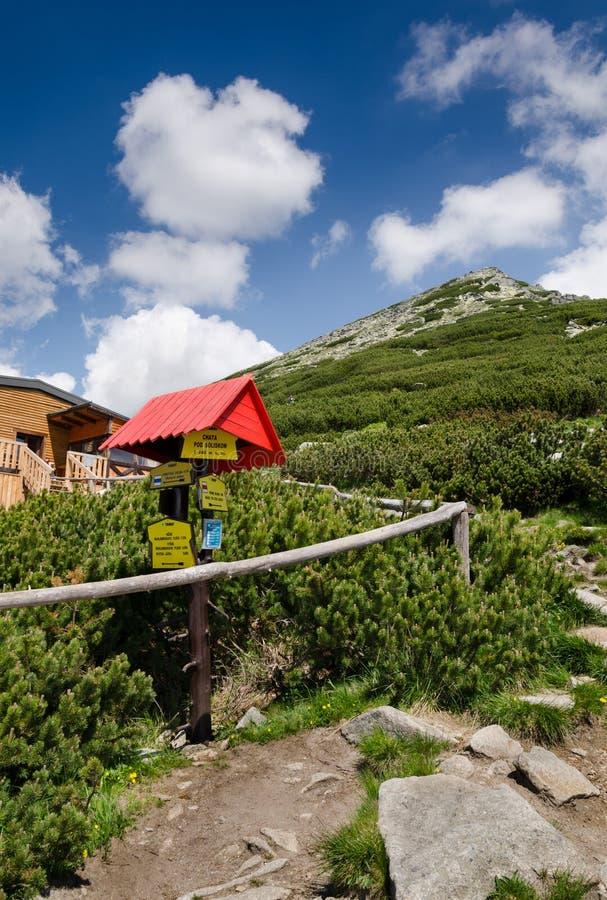 High Tatras mountains, Slovakia stock photography