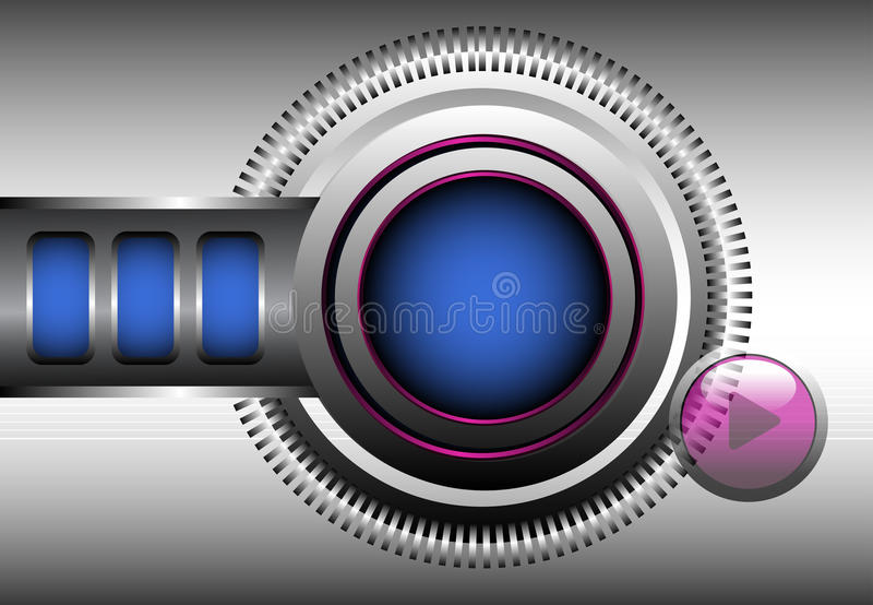 High tech background stock photography