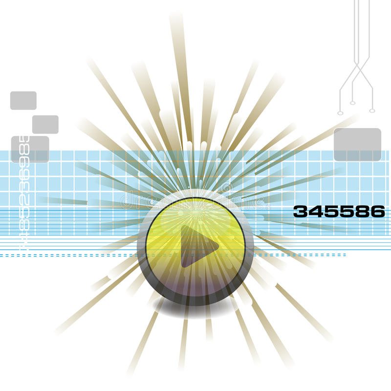 High tech background stock illustration