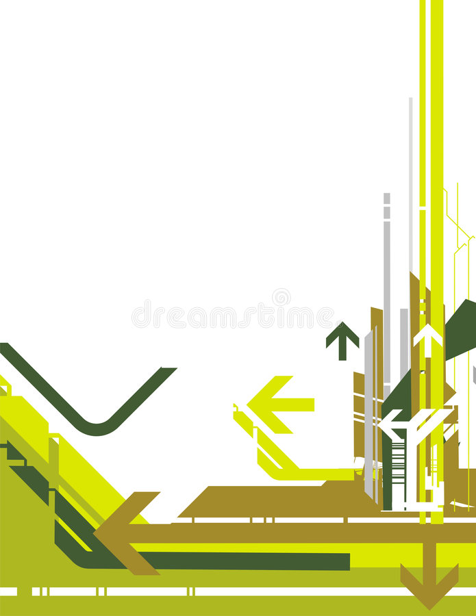 High-tech background series stock illustration
