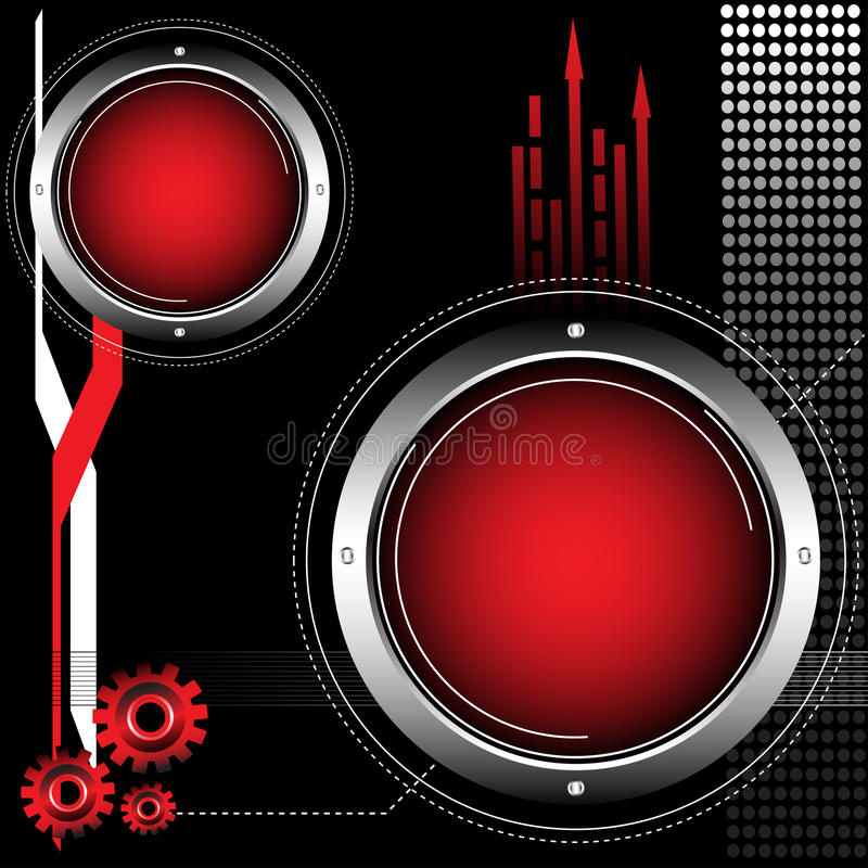High tech concept stock images